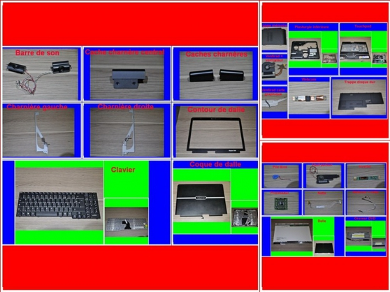 Pièces Packard bell EasyNote MX52 15,4Po