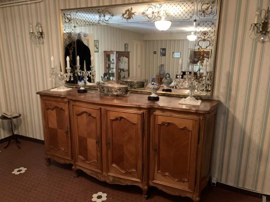 salle à manger louis xv merisier