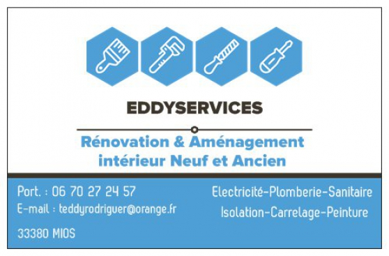 Annonce occasion, vente ou achat 'eddyservices renovation'