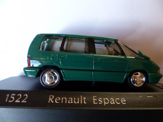 2 RENAULT ESPACE -ALPINE SOLIDO 1/43ème
