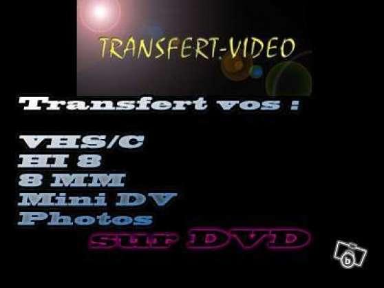 Transfert vos vhs/c, hi8 ,minidv,photos