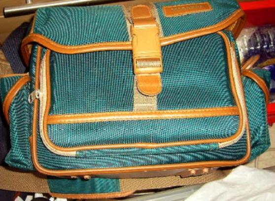 Annonce occasion, vente ou achat 'sac de transport Miranda vert photos cam'