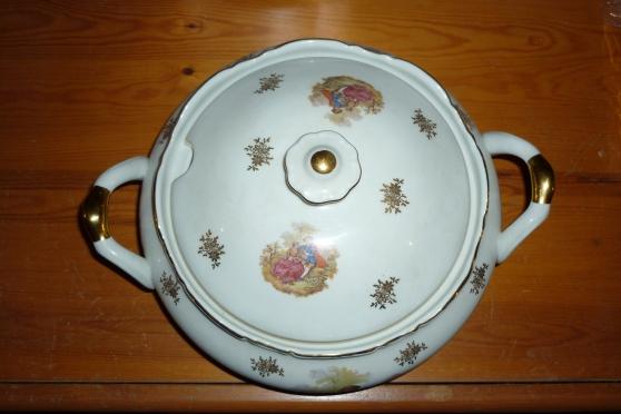 Vaisselle porcelaine Fragonard