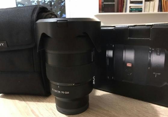 Objectif Sony 24-70 mm F2.8 G Master