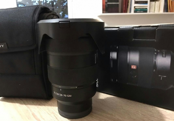Annonce occasion, vente ou achat 'Objectif Sony 24-70 mm F2.8 G Master'