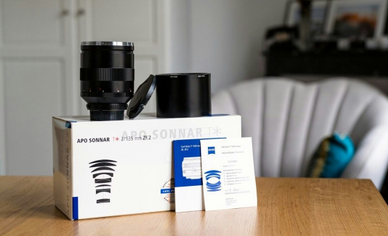 Objectif Zeiss APO-Sonnar T* 135mm 2.0 Z - Photo 1