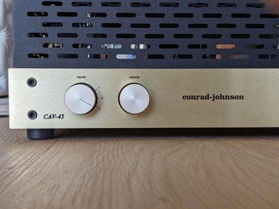 Annonce occasion, vente ou achat 'Conrad Johnson CAV45-S2'