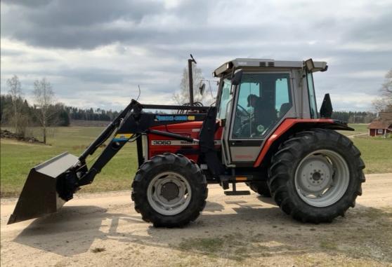 Tracteur Massey Ferguson MF 3060 à 14120