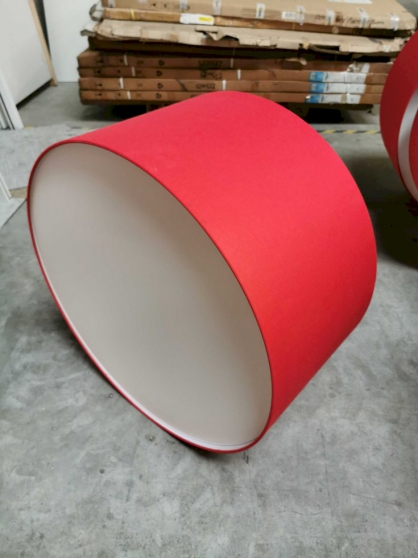 Annonce occasion, vente ou achat 'Luminaire CONTARDI CIRCUS SO rouge ⌀75cm'