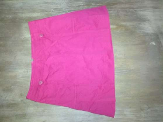 jupe courte rose