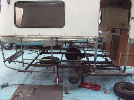 Annonce occasion, vente ou achat 'Réparation chassis caravane Eriba'