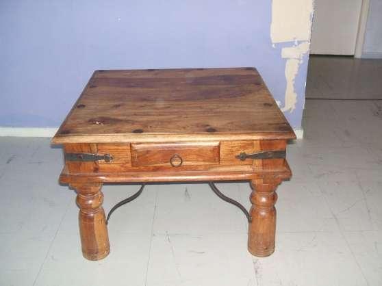 table basse en chene