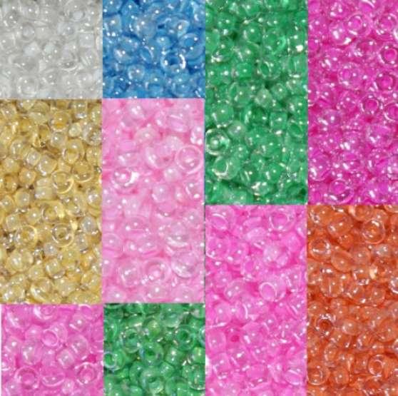 100.000 Perles de Rocaille 1900 grammes