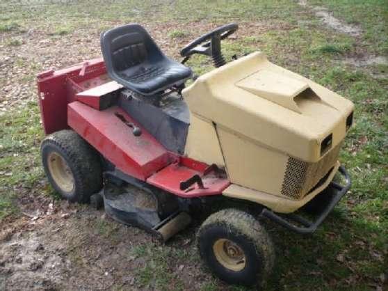 tracteur tondeuse wolf moteur jardin nature tondeuses. Black Bedroom Furniture Sets. Home Design Ideas