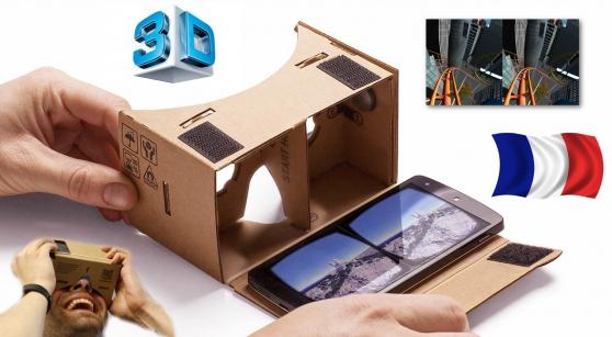 Google Cardboard casq. réalité virtuelle