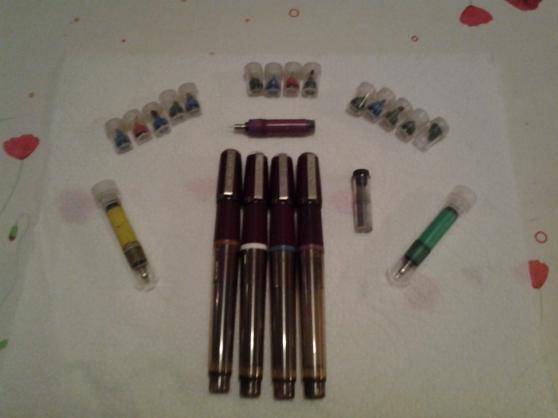 Annonce occasion, vente ou achat 'anciens stylos Graphoplex encre de chine'