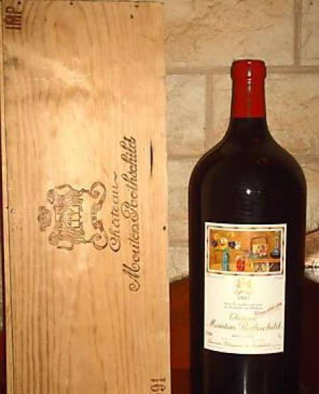2 IMPERIAL CHATEAU MOUTON ROTHSCHILD 199