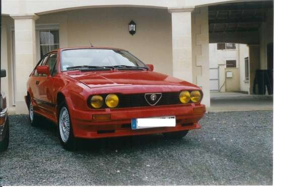 ALFA ROMEO GTV 2 LITRES KIT PRODUCTION