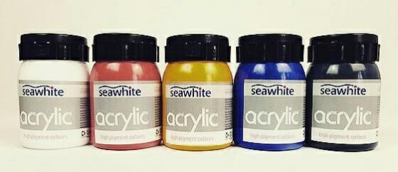 pots acryliques en promotion