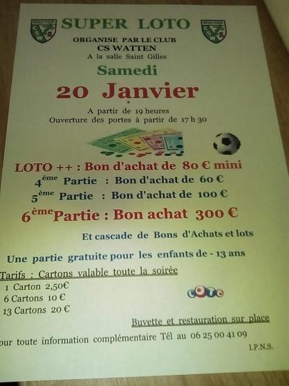 loto - Annonce gratuite marche.fr