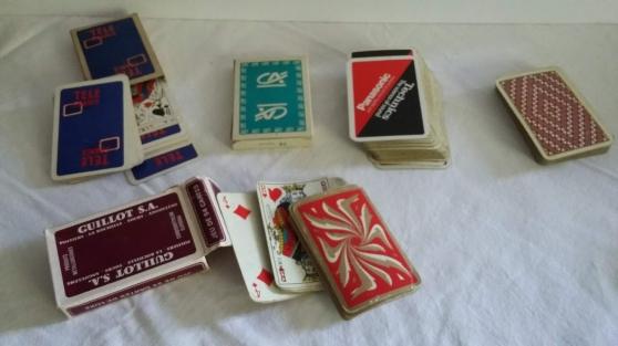 Annonce occasion, vente ou achat '5 jeux de cartes pour jouer des réussite'