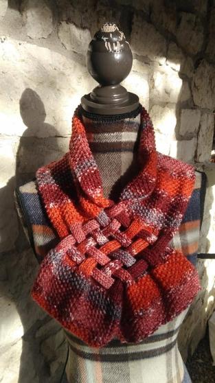 créations en matières textiles fait main - Photo 2