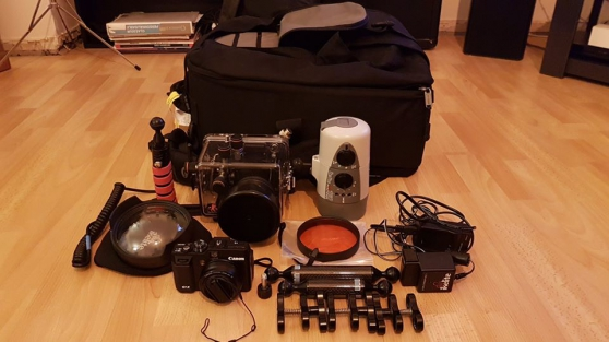Canon G1X + caisson Ikelite