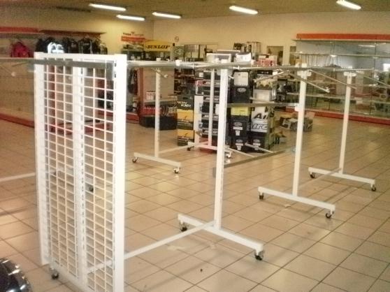 Annonce occasion, vente ou achat 'Gondole cadre à roulettes h1,45 x l1,25m'