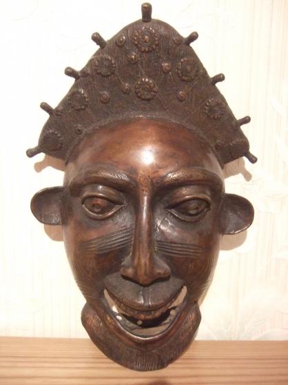 Masque bronze Bamoun