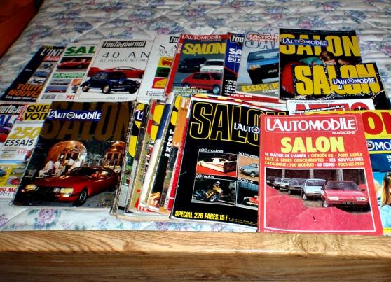 Annonce occasion, vente ou achat 'Lot de revues sur l\'automobile'