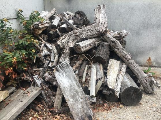 Donne bois de chauffage ou de sculpture