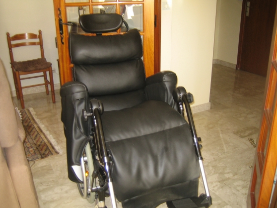 Fauteuil roulant wheely 6 roues
