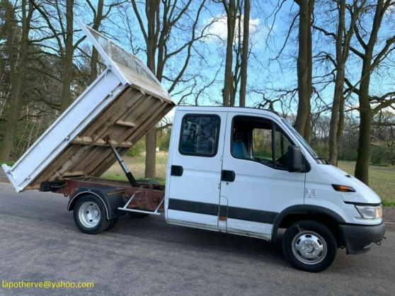 Annonce occasion, vente ou achat 'Iveco Daily 35C11 Double cabine 7 places'