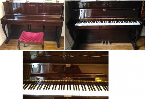 Annonce occasion, vente ou achat 'Piano droit Schimmel 109 mécanique Renne'