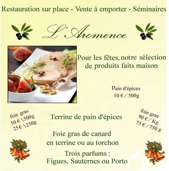 foie gras de canard préparé par le chef
