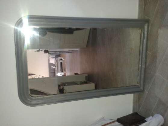 Grand miroir ancien MEUBLES - DÉCORATION MIROIRS à Callas- REFERENCE ...