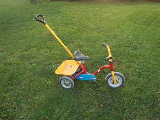 velo tricycle métalique