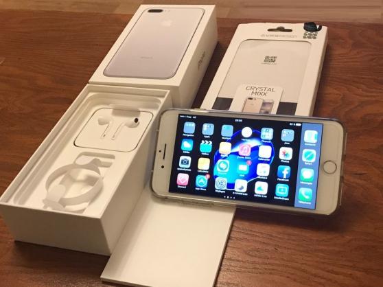 Petite Annonce : Iphone 7 plus 128 go aucune rayure aucun - Vends IPhone 7 plus 128 Go état irréprochable couleur argent -