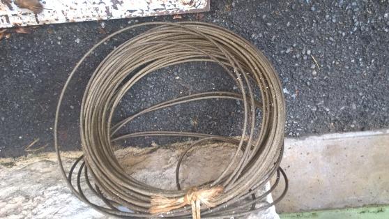 Petite Annonce : Cable acier 5mm - Vent rouleaux câble acier 60 m  diamètre 5 mm neuf