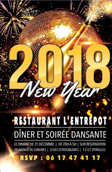 dîner et soirée réveillon jour de l'an - Annonce gratuite marche.fr