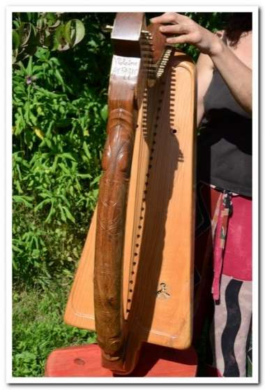 Harpe celtique clairseach