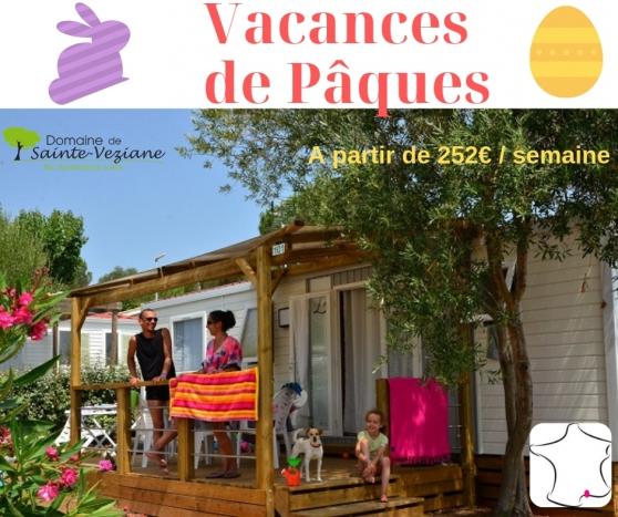 Annonce occasion, vente ou achat 'Vacances de Pâques dans camping Hérault'