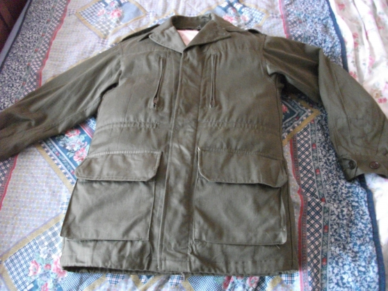 Annonce occasion, vente ou achat 'Veste Militaire Neuf (chasse) Taille L/M'