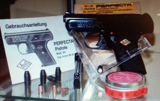 Annonce occasion, vente ou achat 'Recherche pistolet Perfecta Modele 50'