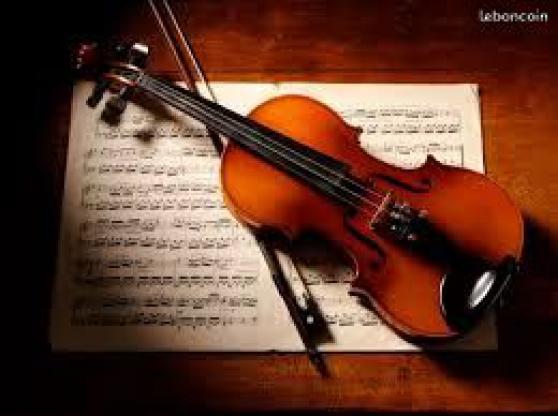 Donne cours Violon/Alto/Solfège