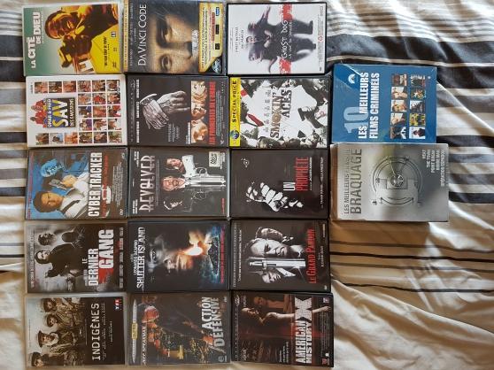 Lot de 34 DVD