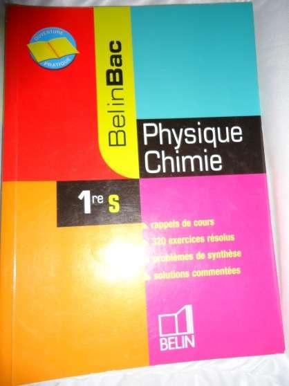 Annonce occasion, vente ou achat 'Belinbac physique chimie 1ere S'
