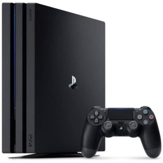 Sony PlayStation 4 Pro Console - Jet Bla