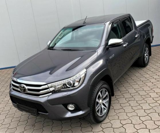 Annonce occasion, vente ou achat 'Toyota Hilux 2.4 D-4D 4x4 °Rollo°AHK°SHZ'