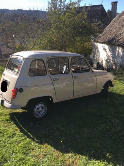 Annonce occasion, vente ou achat 'Renault 4TL - 1984 - 64077 kms'
